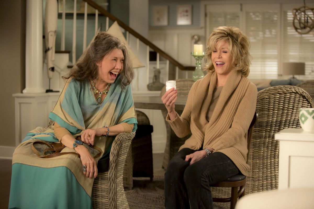grace and frankie feel good