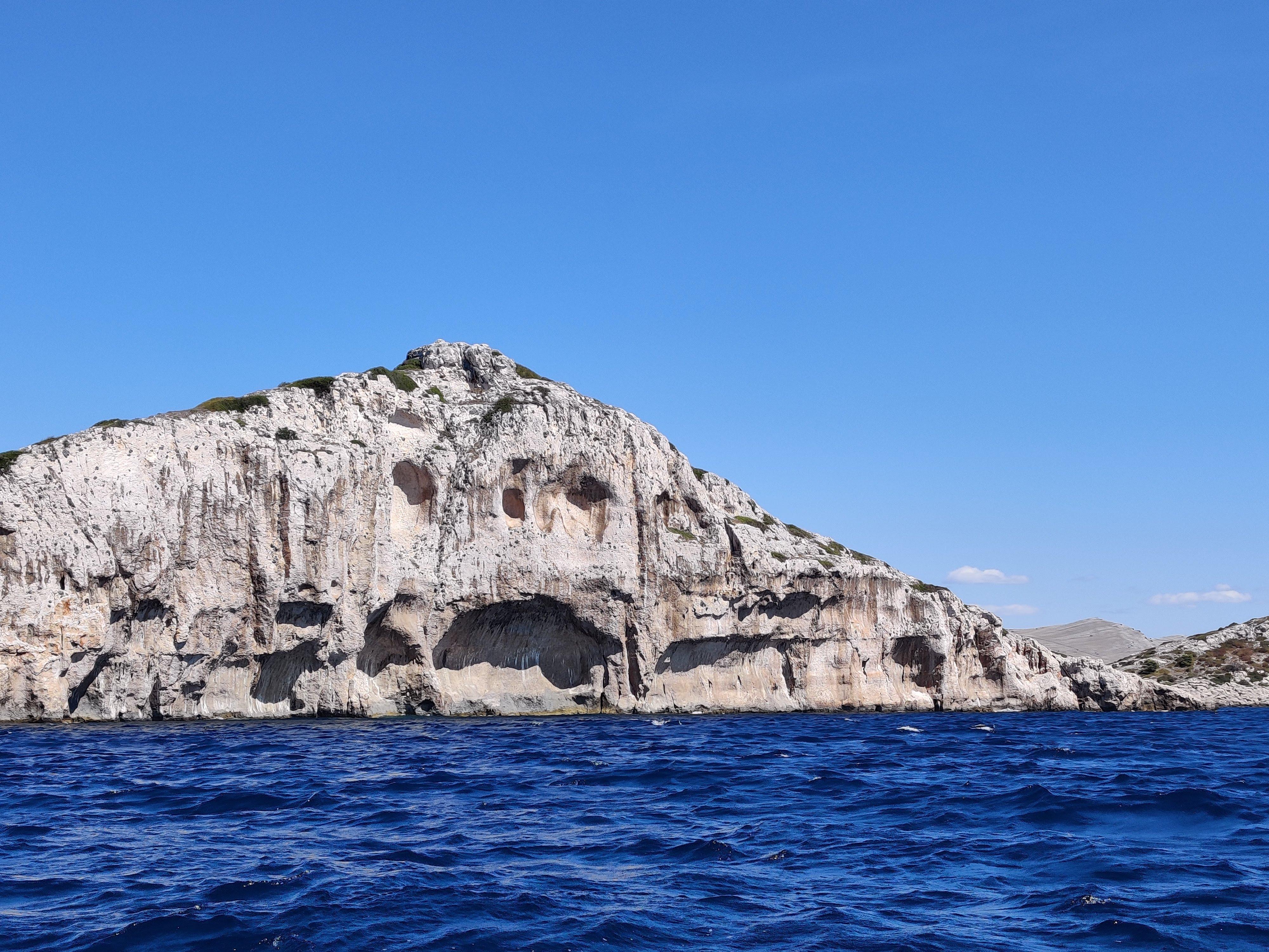 cliff poseidon kornati